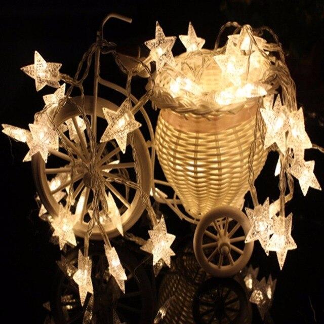 Est 45m romantic fairy star light bar 28 led electric string light est 45m romantic fairy star light bar 28 led electric string light christmas tree light aloadofball Gallery