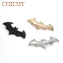 New 3D Car Stickers Metal Bat Auto Logo Car Styling Metal Batman Badge Emblem Tail Decal Motorcycle Car Accessories Automobiles