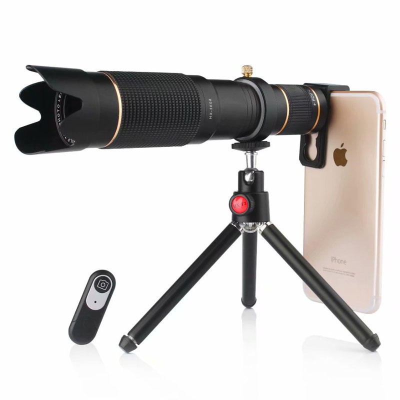 36X Telephoto Phone Camera Lens Universal Phone Telephoto Lens Tripod with Fashion Design and Feels Great