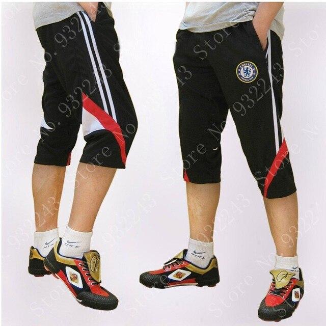 28082cd0 Men Cropped Pants Man 3/4 Soccer Training Pants Trousers Men Jogger Sports  Pants Slacks Boy Cargo Pants Sweats Pantalones Hombre