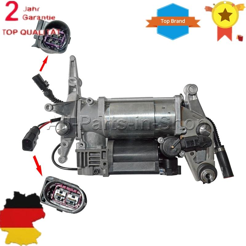 NEW WABCO Air Suspension Compressor Pump For VW Touareg Porsche Cayenne Audi Q7 4L 4L0698007A 4154033050 7L8 616 007 F force f 616