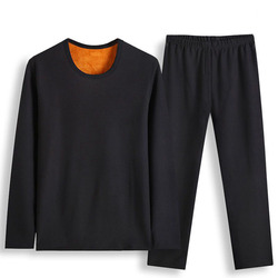 Herfst Winter thermisch ondergoed 5XL 6XL 7XL 8XL 9XL 10XL O nek Buste 180 cm Fleece Plus size Warm grote size mannen lange onderbroek