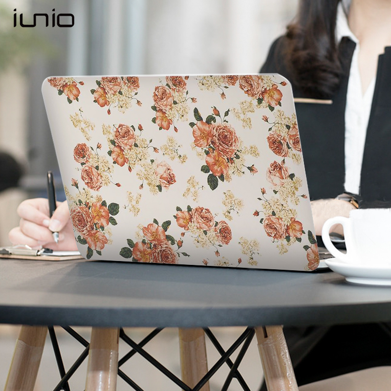 Case For Macbook Air 11 Laptop Notbook 3D Floral Protective Cover For Macbook Air 11 Inch Case Hard Matte 11.6 Case For Mac