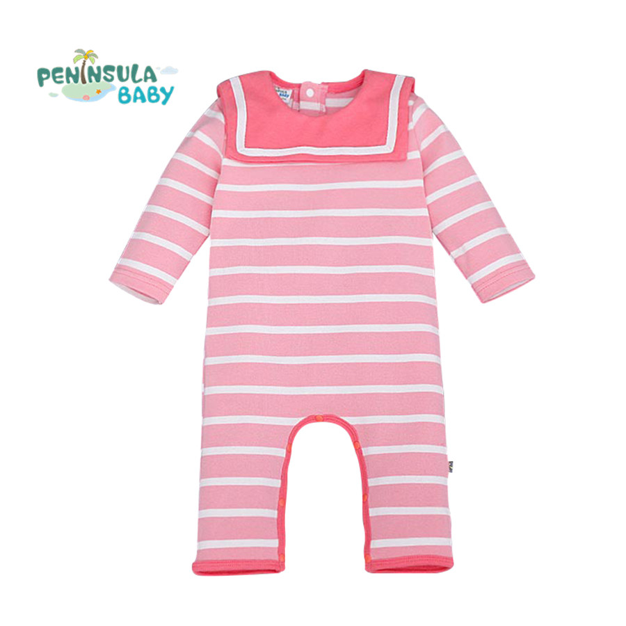 Stripe Baby Clothing Baby Romper Brand Cotton Long Sleeve