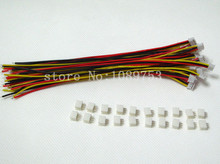 ZH 1.5mm 3-Pin JST Connector Plug with Wire x 20 sets