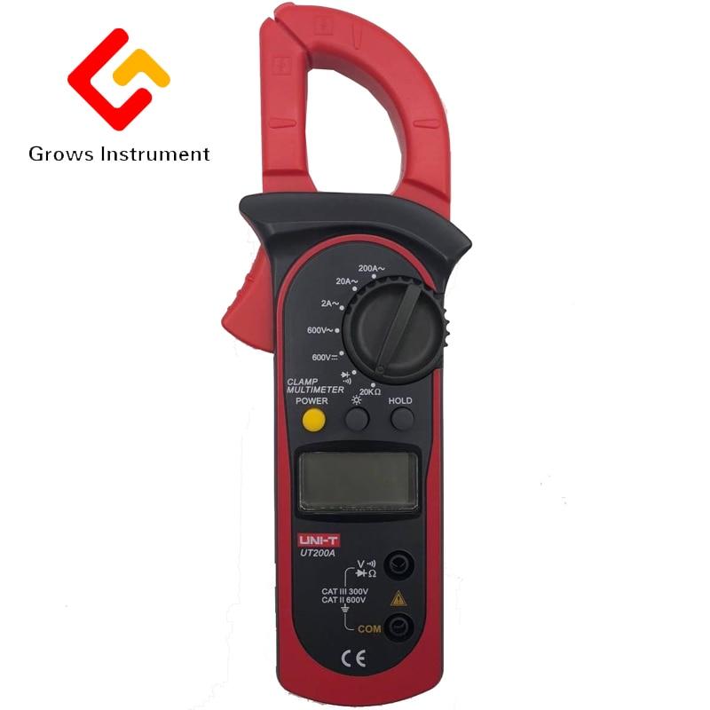 UT204 Digital clamp meter digital multimeter ammeter resistance to high precision DC voltage meter