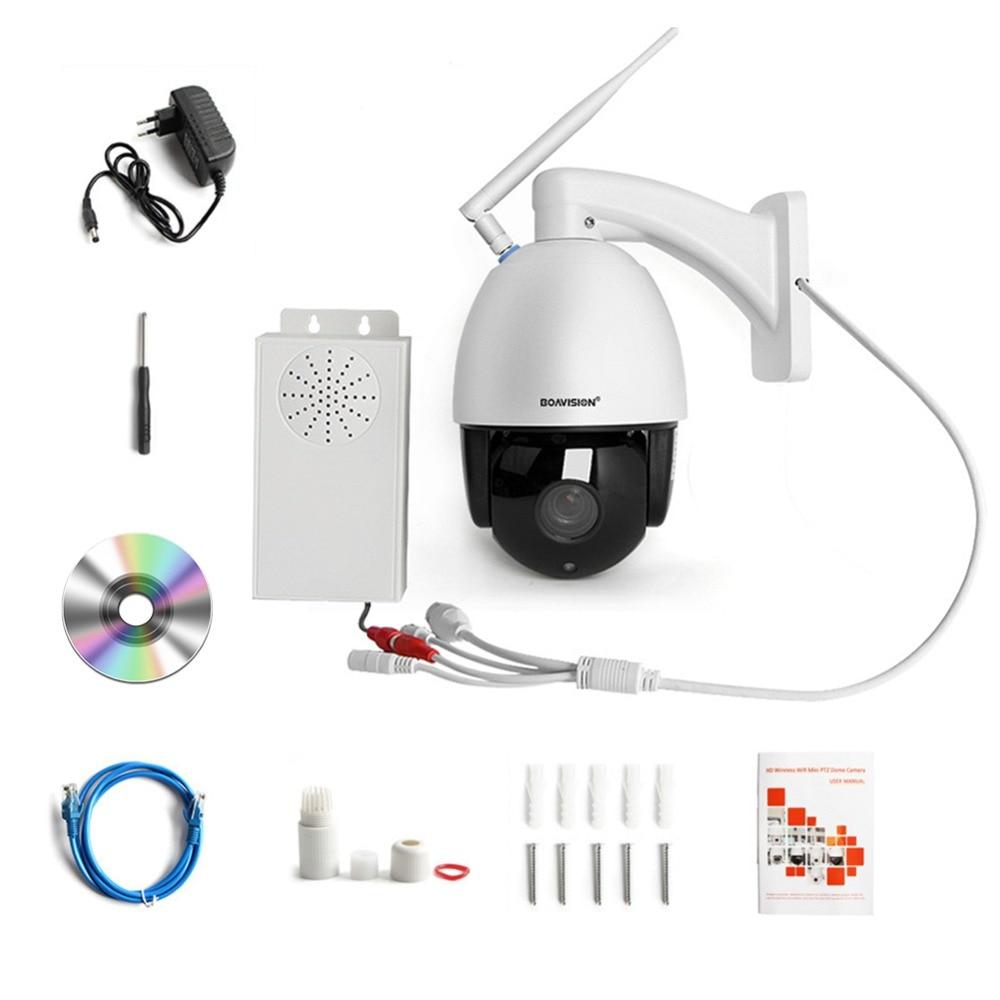 Caméra IP de dôme de vitesse PTZ sans fil HD 1080 P WIFI 5X 10X Zoom caméra de Surveillance vidéo de sécurité CCTV extérieure Audio ONVIF IR 60 M - 6