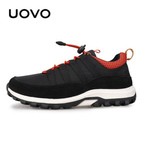 Image 2 - New Boys And Girls Sports Shoes Autumn UOVO 2020 Children Shoes Breathable Kids Shoes Brethable Flat Casual Sneakers Eur #32 38