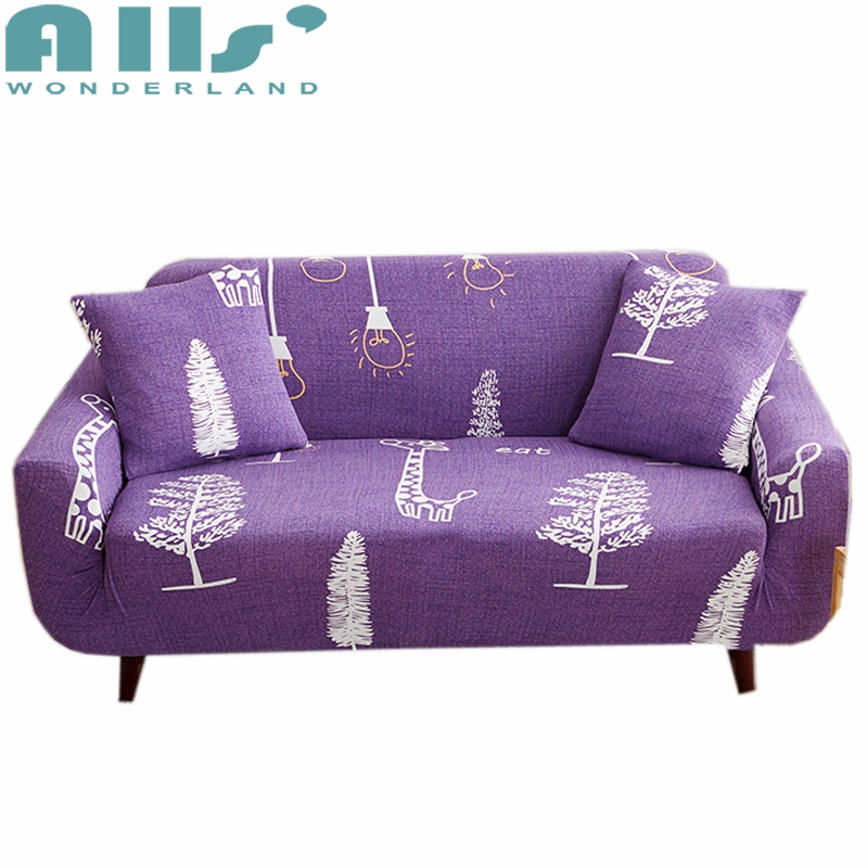 Excellent Creative Sketch On Purple Sofa Cover Cartoon Tight Wrap All Gmtry Best Dining Table And Chair Ideas Images Gmtryco