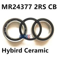 24377 mr2437 2rs керамический подшипник(24*37*7 мм) bb90 Нижний Кронштейн запасные части подшипника