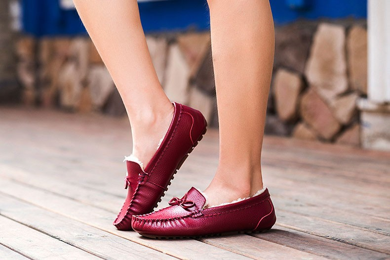 AH 5710  (18) women winter loafers