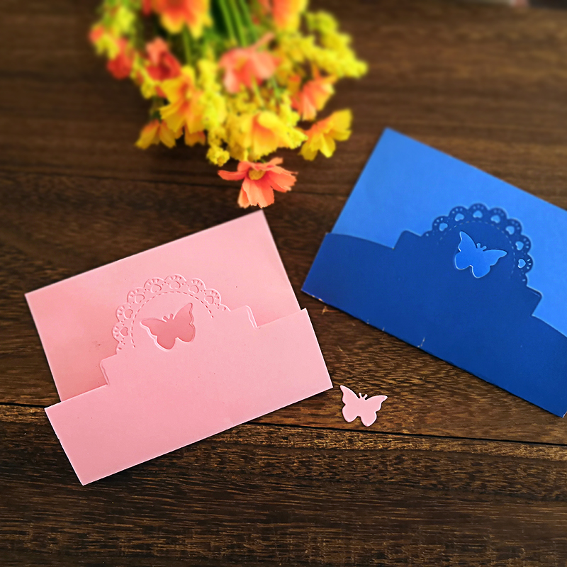 Butterfly Cover Metal Cutting Dies for Scrapbooking DIY Album Embossing Folder Paper Card Maker Template Decor Stencils Crafts in Cutting Dies from Home Garden
