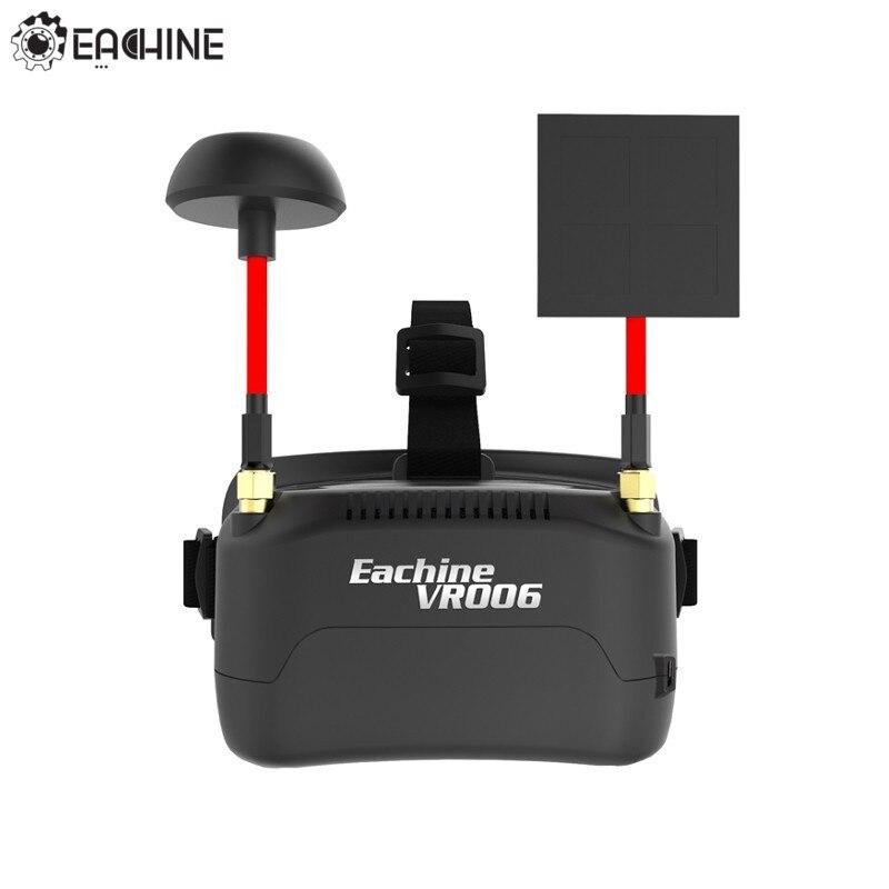 Eachine VR006 VR 006 3 Inch 500*300 Display 5.8G 40CH Mini FPV Goggles Build in 3.7V 500mAh Battery