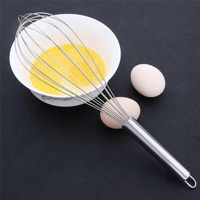 Para Ferramentas de Cozimento de cozinha Utensílios de Cozinha Batedor de Ovos de Aço Inoxidável Misturador Batedor de Mão Ferramentas Da Cozinha