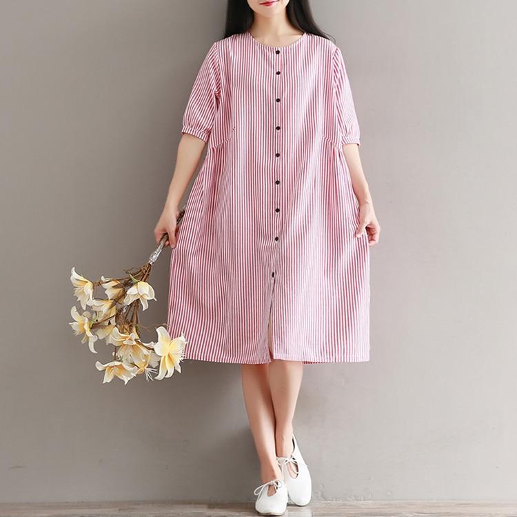 Японское летнее платье