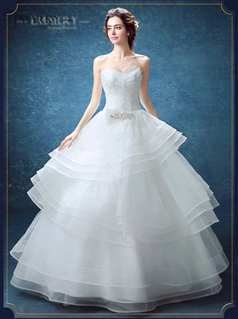 bridal gowns no train
