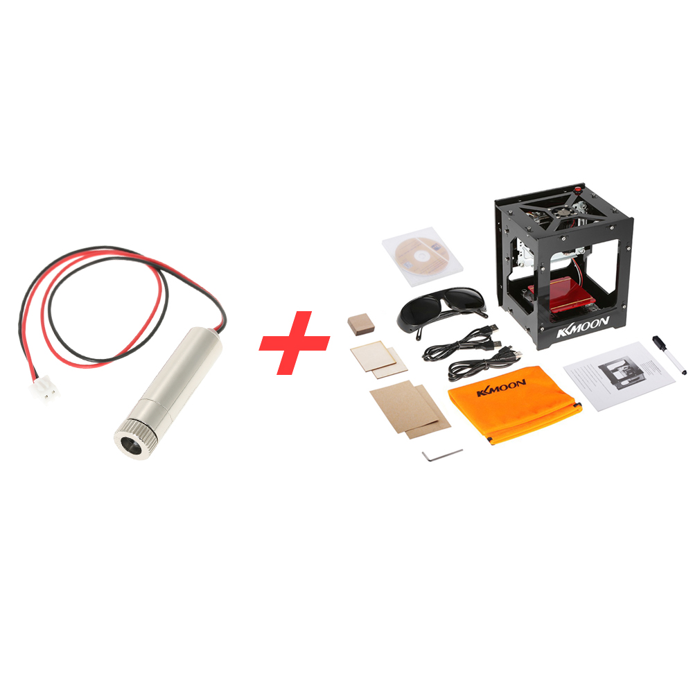 1000mW High Speed laser cutter USB Laser Engraver Mini cnc router DIY Engraving Machine + 1000mW 405nm Violet Light Laser Head 1500mw 405nm violet light laser head laser engraver accessory for cnc laser cutter cnc router diy carving engraving machine