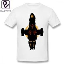 Firefly T Shirt T-Shirt Short-Sleeve Men Tee Print Plus size  100 Percent Cotton Cute Fashion Tshirt