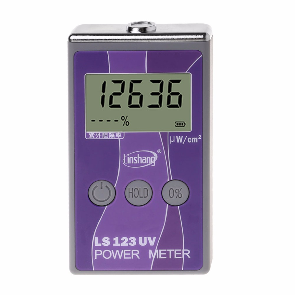 LS123 UV Power Meter Ultraviolet Intensity Transmittance Rejection Rate Tester ToolsLS123 UV Power Meter Ultraviolet Intensity Transmittance Rejection Rate Tester Tools
