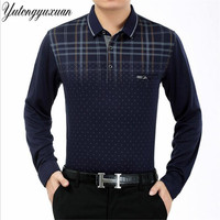 2017 Autumn Brand Shirts Men S Polo Shirts Solid Long Sleeve S Polo Shirts Men S