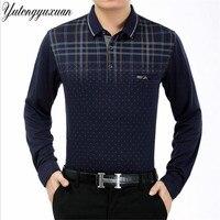 2017 Autumn Brand Shirts Men S Polo Shirts Solid Long Sleeve S Polo Shirts Men S