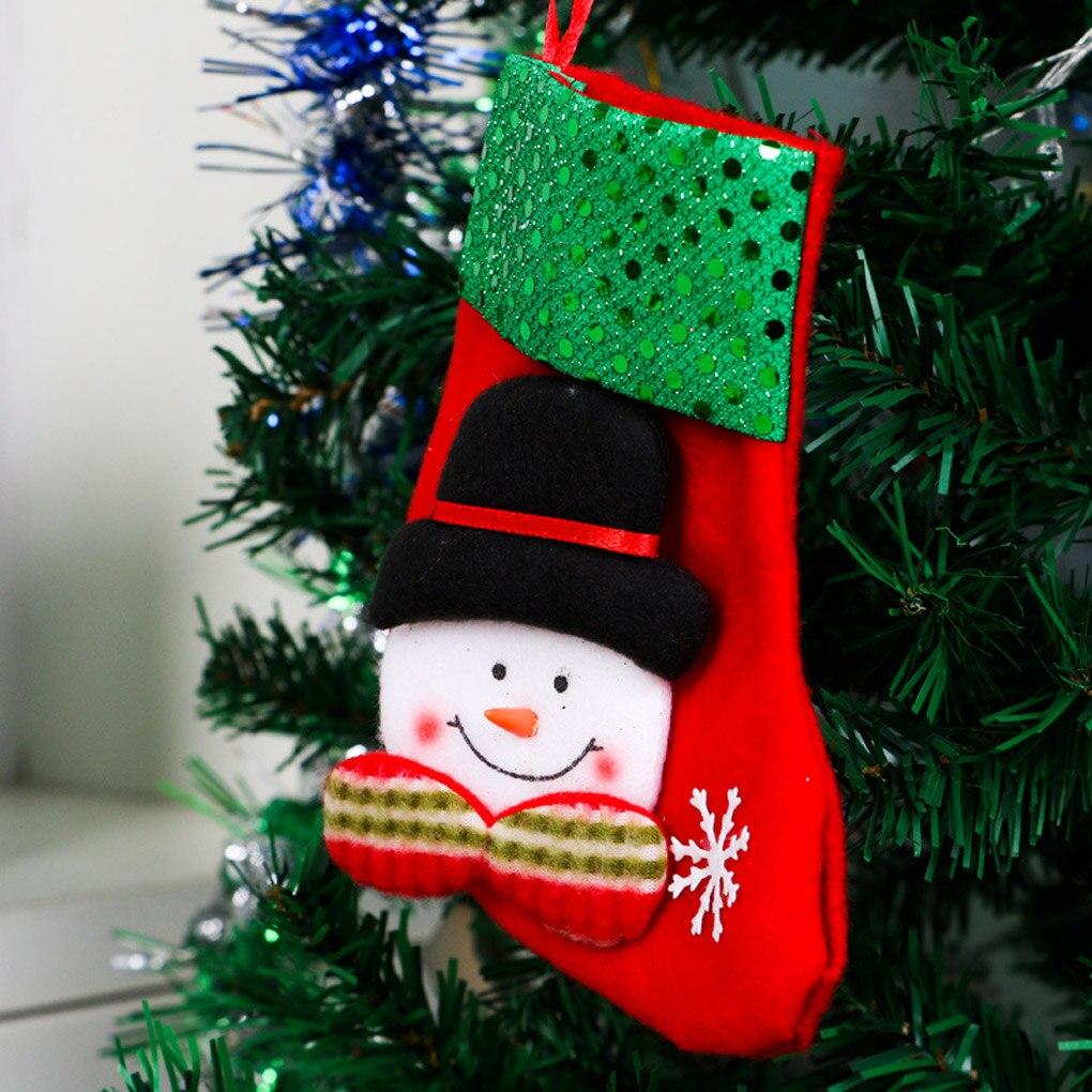 Großhandel Neue Christbaumschmuck Hängen Candy Socken Weihnachten ...