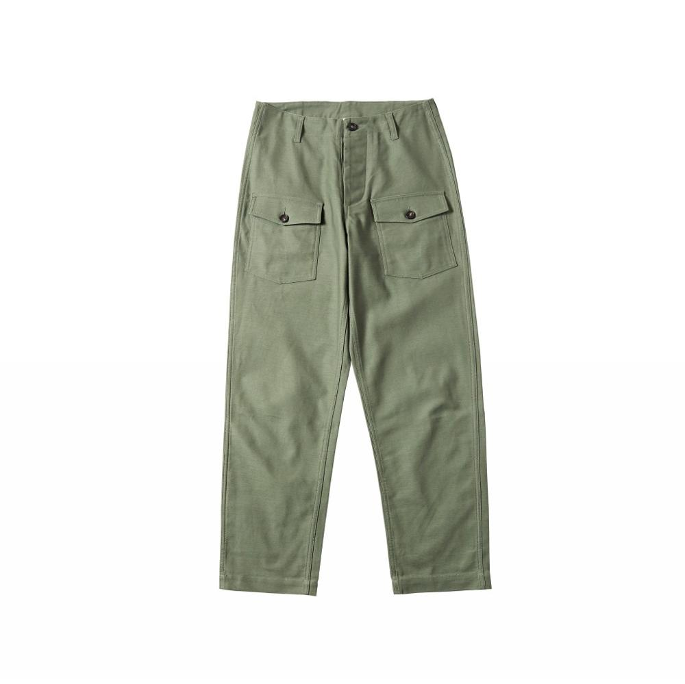 Repro USAF CWU-5/P Pants Vintage Military Trousers For Men Army Green