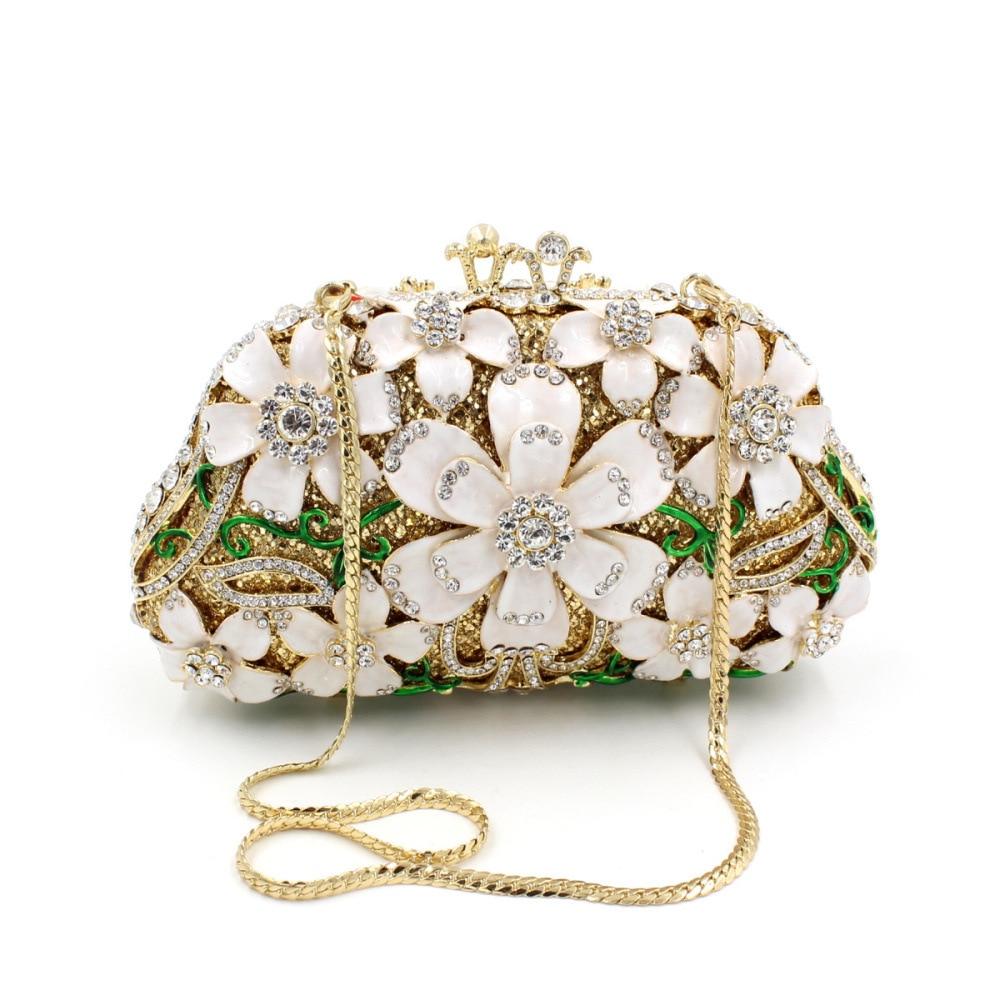 BL021 Luxury diamante evening bags octagon colorful clutch bags women party purse bags crystal sacoche pochette handbags