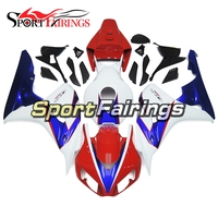 Full Fairings For Honda CBR1000RR Year 2006 2007 06 07 ABS Motorcycle Fairing Kit Bodywork Motorbike Cowling White Blue Carenes