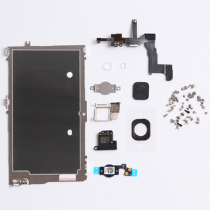 Image 2 - Full Set LCD Replacement Parts For iPhone 5G 5C 5S Home Button+Speaker+Cable+Front Camera  Spare Parts