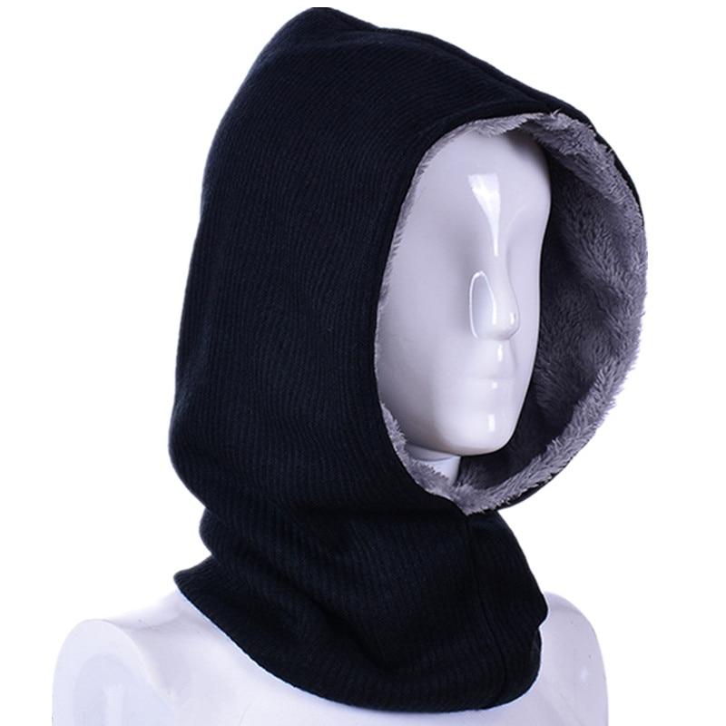 Winter Women Men Knitted Hats Beanie Set Female Male Scarf Beanies Set Winter Hat For Boy Girl Cap Gorras Bonnet Mask Brand Hat