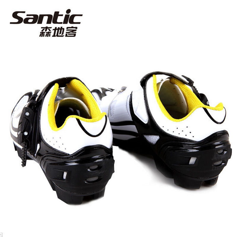 Santic New Cycling Shoes Biking Shoes Zapatilhas Ciclismo Mtb Cycling Shoe Breathable Mountain Road Bike Shoes For Men