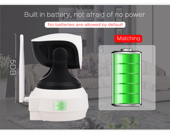 2MP HD no need power wifi  wide angle PTZ CCTV cameras mobile phone PC control two way audio surveillance wireless  cameras