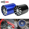 Dual Turbo Air Intake Gas Fuel Saver Fan Turbo Supercharger Universal Turbine Turbo Air Intake