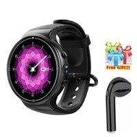 4G Смарт часы для Apple iPhone IOS телефона Android IP67 водонепроницаемый 600 мАч батареи 1 ГБ/16 ГБ MTK6737 luxurt smatwatch для huawei
