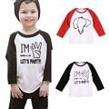 2017 Spring Raglan Patten Baby Kids T-shirt Girl Boy Tops Long Sleeve Cotton Children Clothing Clothes