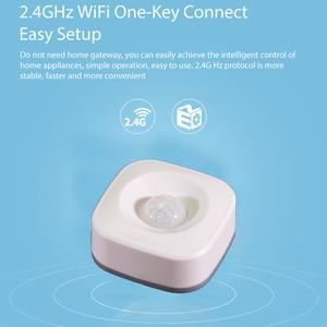 Image 4 - Lonsonho Tuya Smart Wifi Pir Motion Sensor Alarm Infrarood Motion Detector Smart Leven App