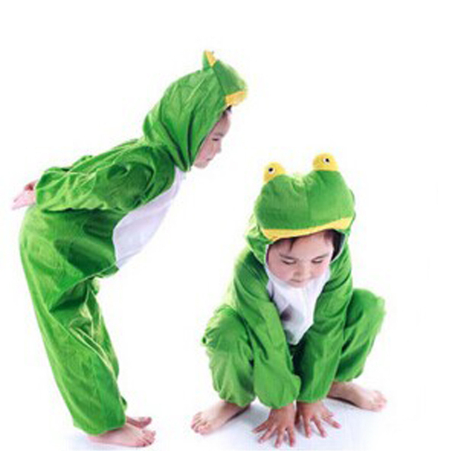 halloween costume party cosplay childrens show clothing frog animalkids baby boys baby girls set
