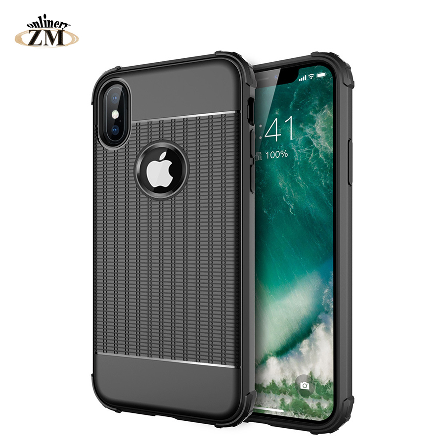 ZMonlinery high quality Case For apple iphone XS MAX XR X  Cover Silicone Bumper Soft Back Cover For iphone XS 8 7 XR plus cases