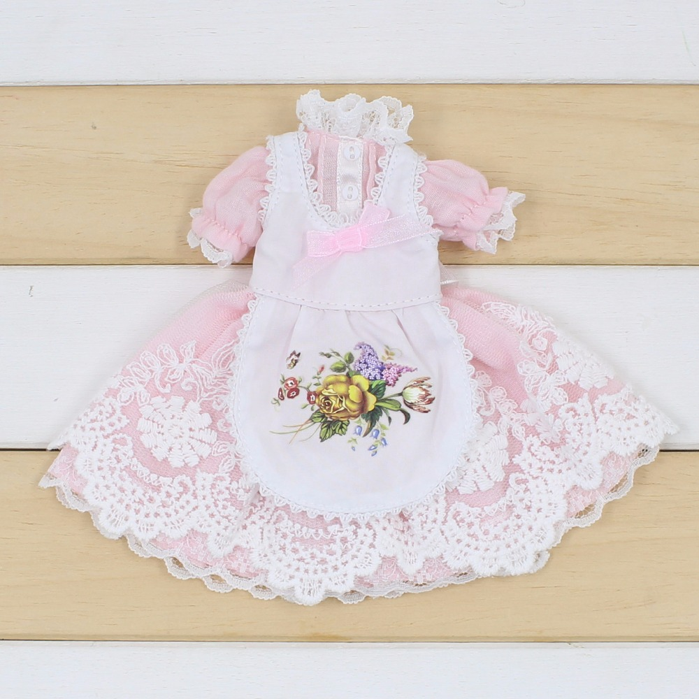 Neo Blythe Doll Apron Clothes 7