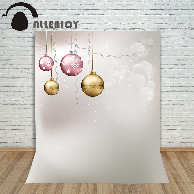 Allenjoy photography backdrops winter banner bokeh golden kids photocall vinyl Customize profession christmas backgrounds allenjoy photography backdrops floor mosaic texture red sand kids photo backgrounds vinyl photocall professional fabric simple