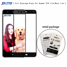 Xxins High definition full screen cover Tempered Glass For Huawei p10 lite Screen Protect smartphone flim for Nova lite protect flim 6av7 872 2 for panel pc 677 b