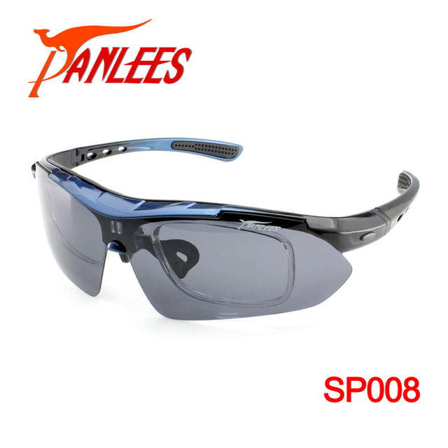 8400df0bc52 Panlees UV400 RX-able Polarized Sunglasses Prescription Sport Sunglasses  Interchangeable Sunglasses With 5 Lens Free Shipping