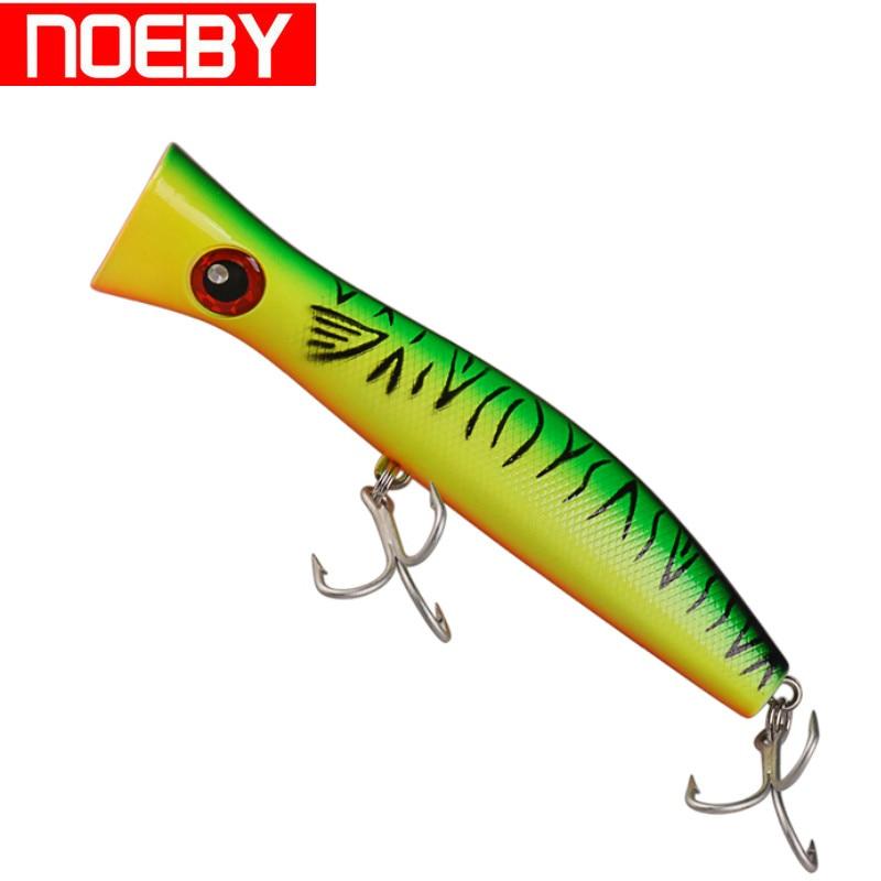 NOEBY NBL9248 Fishing Lure Popper 200mm 115g Top Water Artificial Isca Para Pesca Leurre Dur De Peche Nonep Wobber Hard Bait цена
