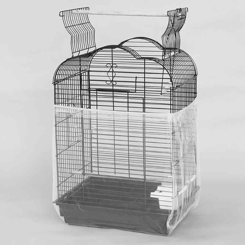 1cd02f842 Detail Feedback Questions about New Unique Soft Nylon Airy Fabric Mesh Bird  Cage Cover Shell Skirt Seed Catcher Guard Bird Supplies Easy Cleaning Bird  ...