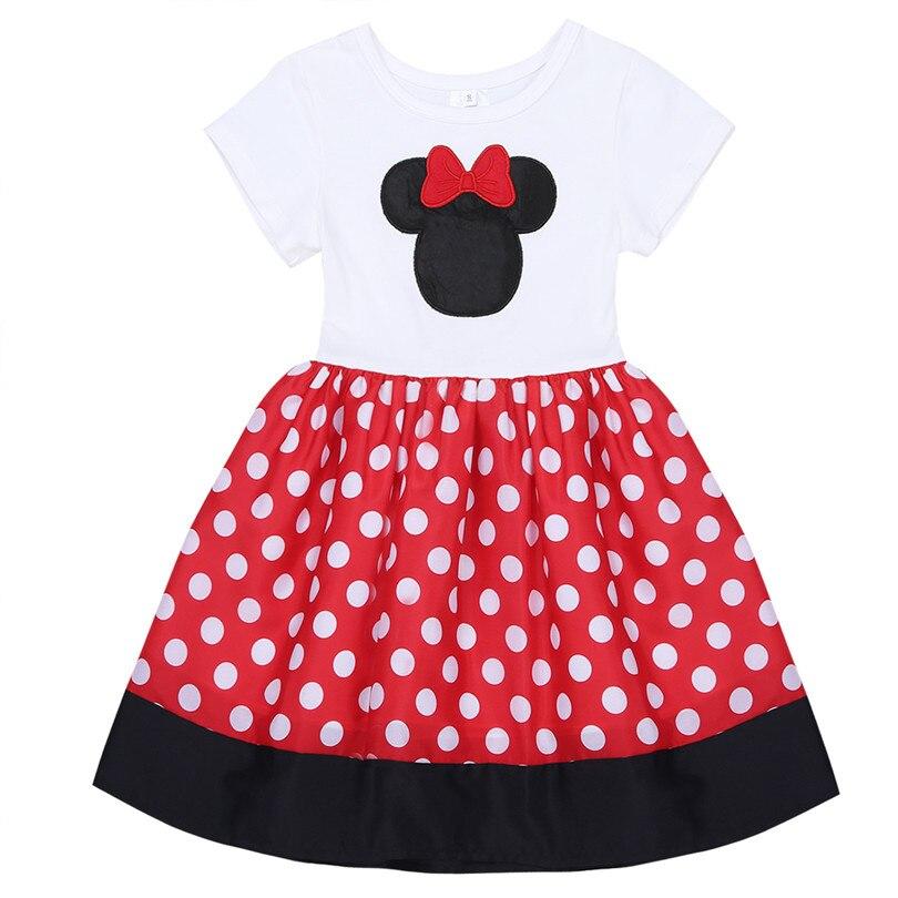 9daebc2f42fd Red Infant Baby Girls Flower Dress Polka Dots Ball Gown Flower Girls ...