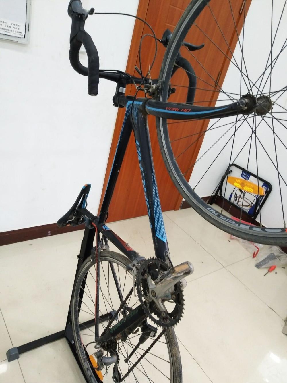 Новый Тип велосипед ремонт стояночный стенд сплав черный велосипед MTB задний кронштейн стойка