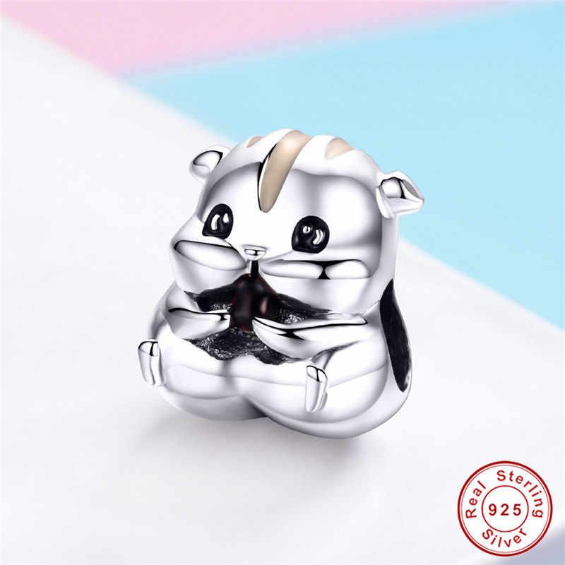 The Kiss Cute Great Panda 925 Sterling Silver Bead Fits European Charm Bracelet