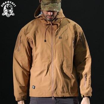 5cee560f1e476 SINAIRSOFT Yeni Giyim erkek Ceket Ceket askeri giyim Taktik Dış Giyim ABD  Ordu Nefes Naylon Işık Rüzgarlık