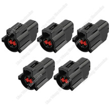 цена на 5 Sets 4 Pin harness connector car waterproof connector plastic case with terminal DJ7047D-1.5-21